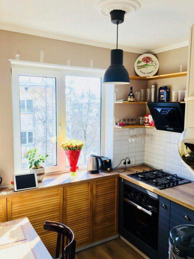 Как всё уместить в малогабаритной кухне
