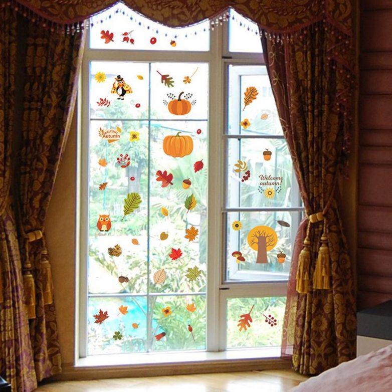 Как по-осеннему украсить свой дом