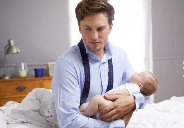 Бывает ли послеродовая депрессия у отцов?