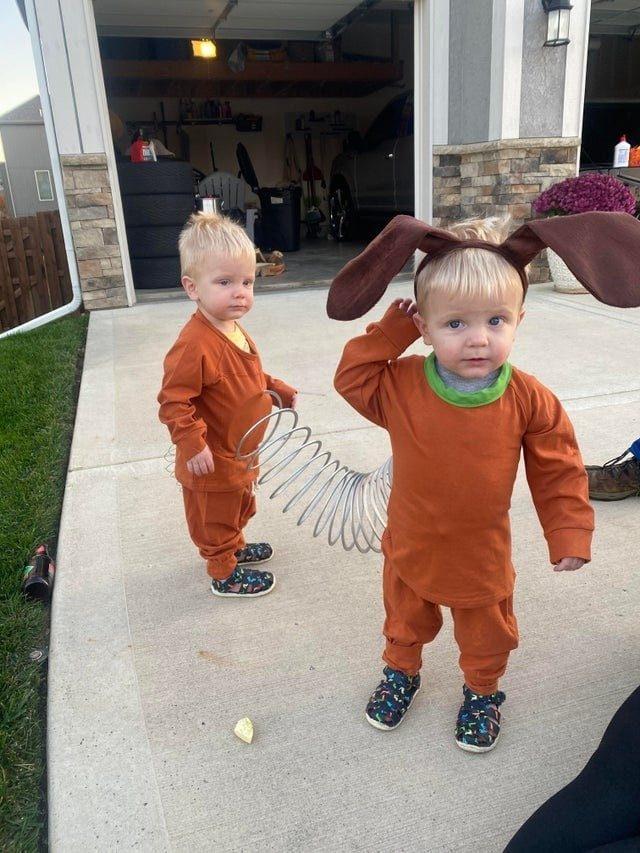 Жизнь с близнецами в два раза веселее!