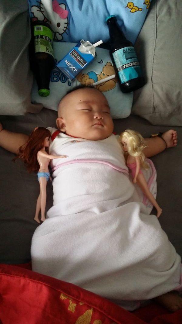 Родительские будни в смешных картинках