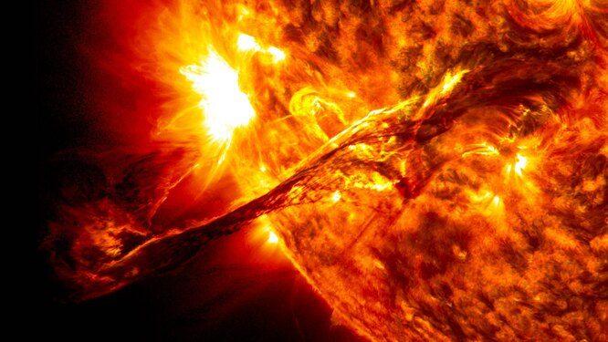 Большой бум-бум? Что произойдёт, если на Землю попадёт кусочек Солнца?