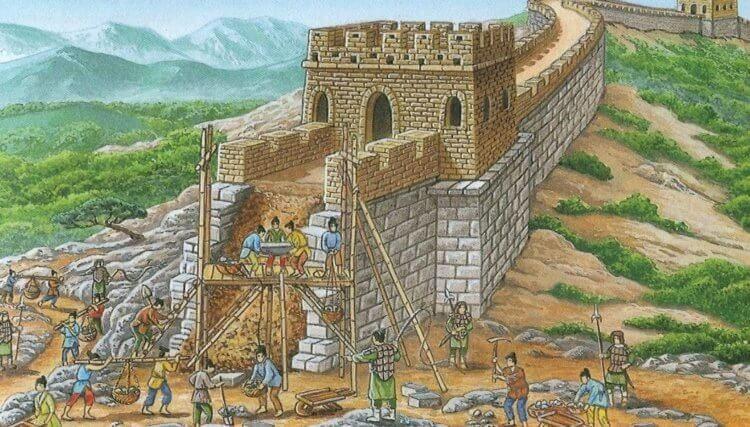 Найдена новая часть Великой Китайской стены