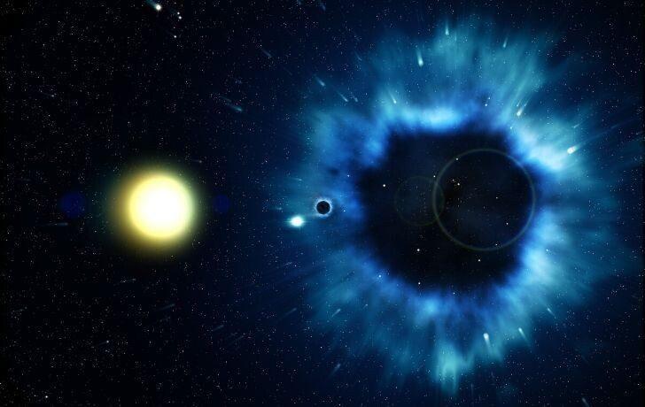 Что произойдёт с человеком, если он угодит в чёрную дыру?