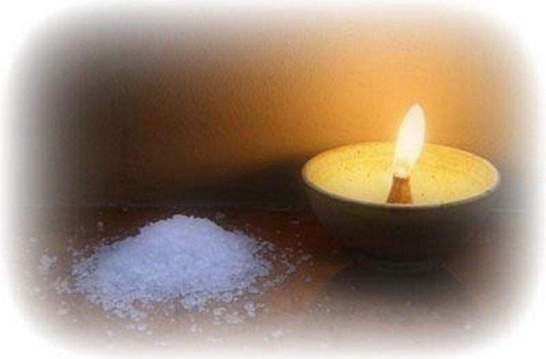Как вернуть негатив через соль и воду