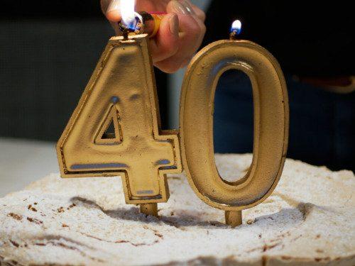3 причины не отмечать 40-летие