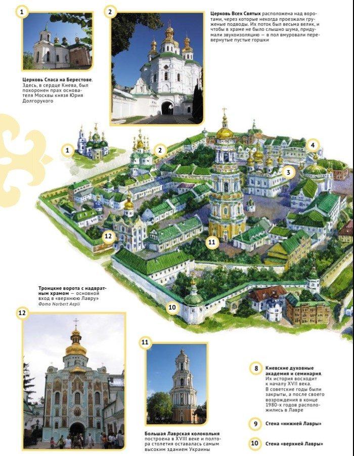 Истории святых Киево-Печерской лавры