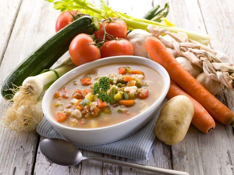 Вегетарианский суп диета 5п