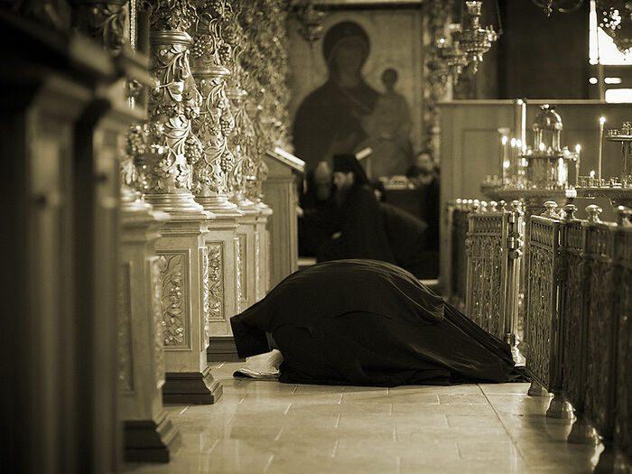 Чтобы молитва была плодотворной
