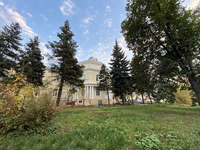 История домового храма госпиталя им. Бурденко
