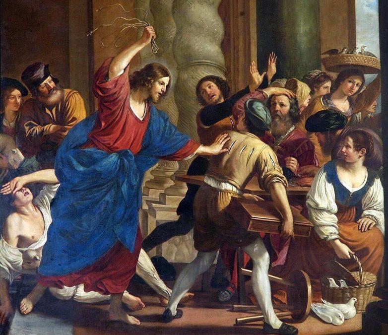 Почему Христос, говоривший о смирении, Сам разгонял менял в храме?