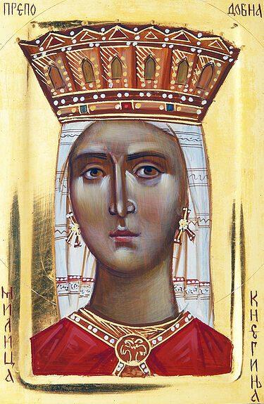 Рассказ о святой царице Милице