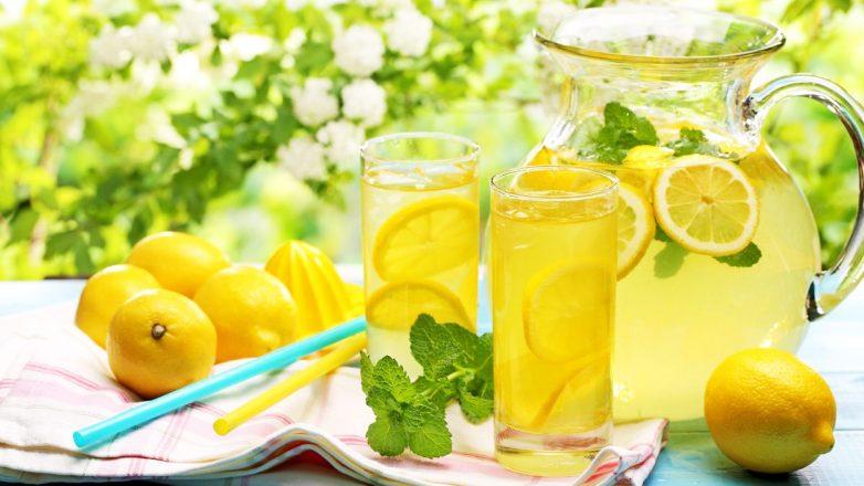 Освежающий турецкий лимонад из апельсина и лимона