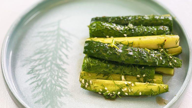 «Битые огурцы» - закуска-салат из огурцов по-китайски. Улетают на ура!