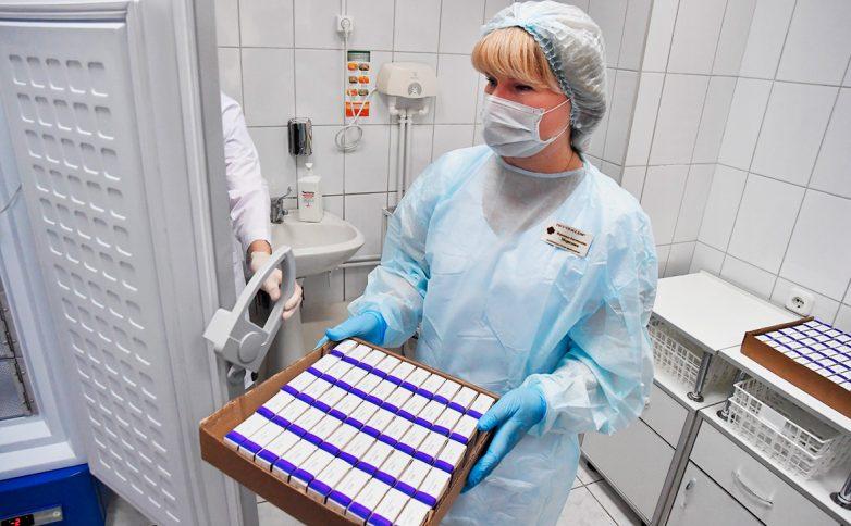 В три Московских поликлиники поступила первая партия вакцины от COVID-19