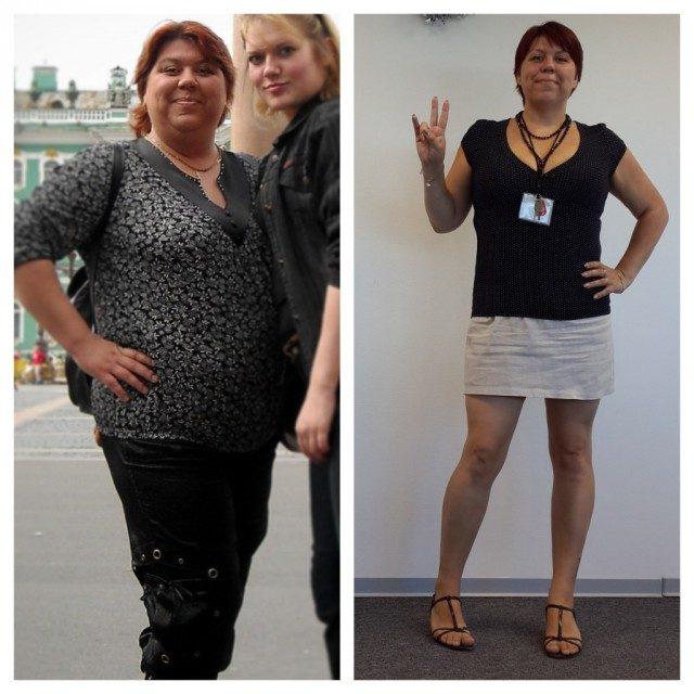 Поделитесь результатами похудения