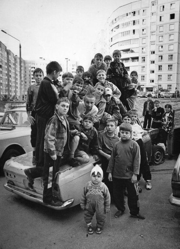 Атмосферные снимки из 90-х. Обалденный сборник!