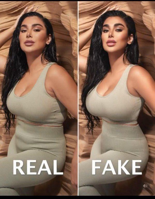 Шокирующий любительский фотошоп в социальных сетях