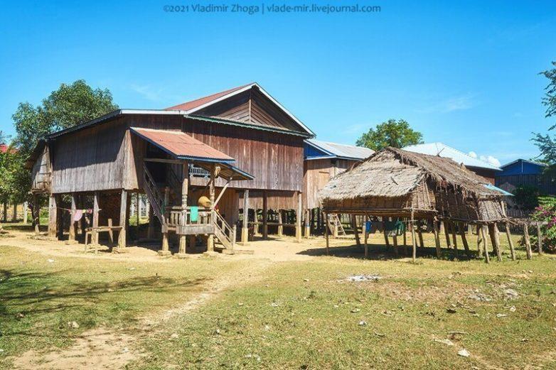 Необычная камбоджийская деревня в записках путешественника