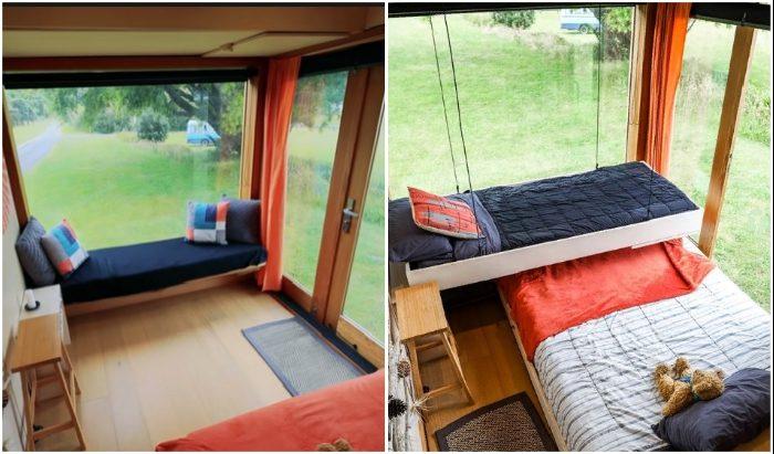 Новозеландка превратила новый грузовик в дом для путешествий