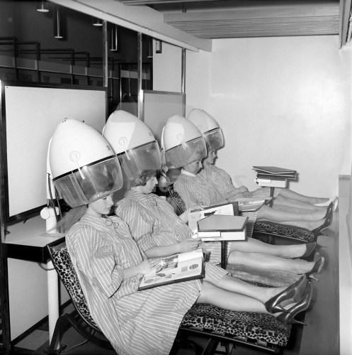 Женские прически 1960-х