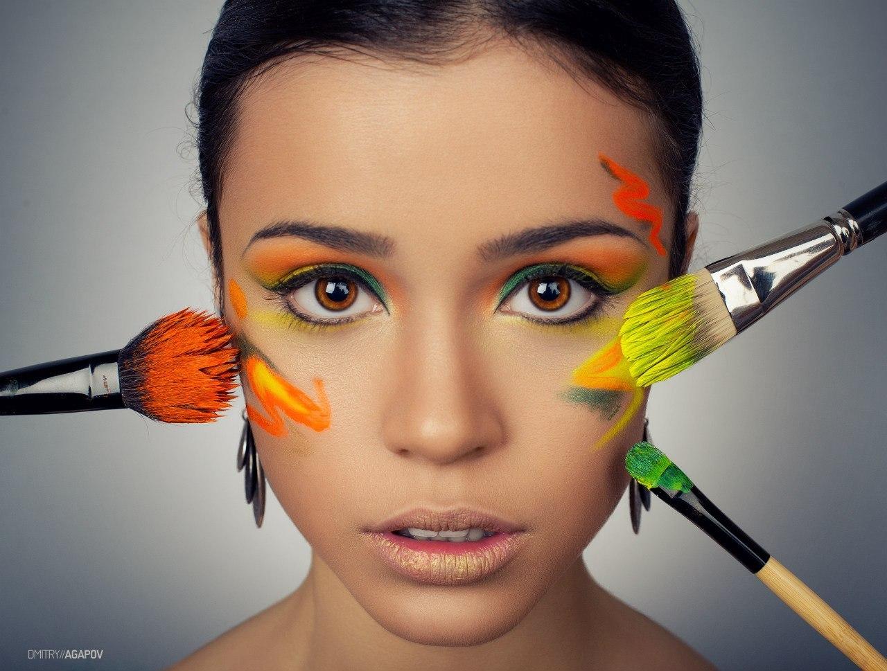 прикольные картинки макияж для себя уже больше