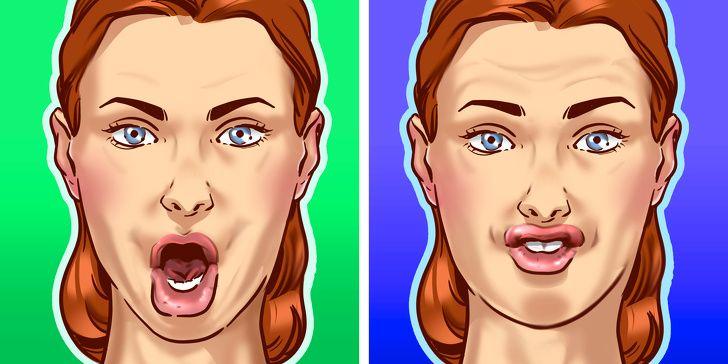 Упражнения, которые помогут избавиться от обвисших щек и изменить овал лица