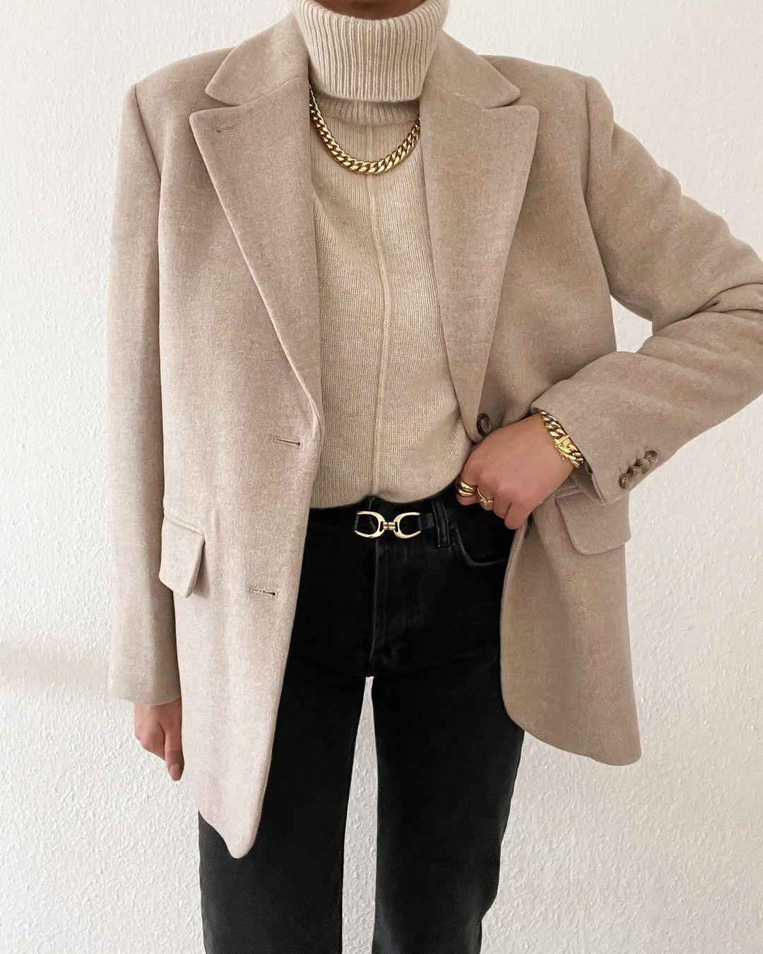 С чем носить чёрные джинсы современным леди