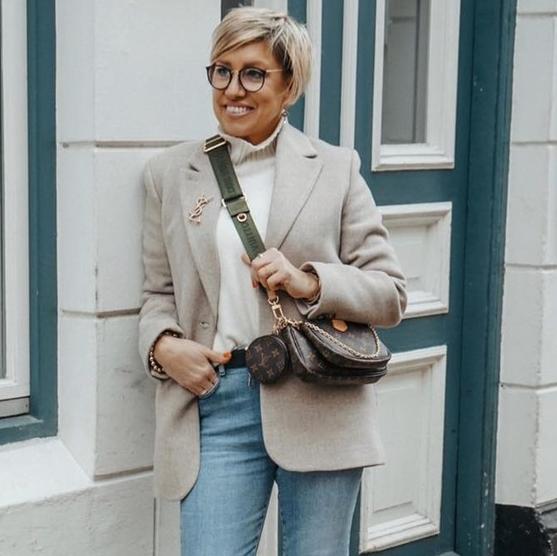 Уличный стиль для женщин 40-50 лет